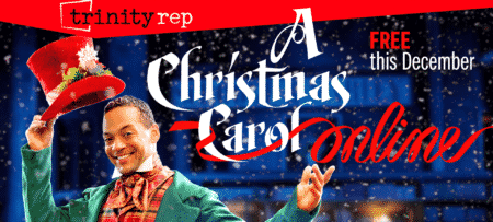 A Christmas Carol Online banner.